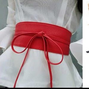 Accessories - ✨PARIS✨Red wrap belt